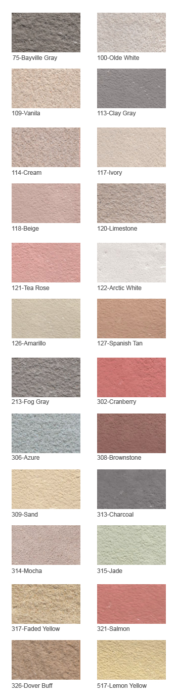 28 Stucco Dryvit Colors Sles And